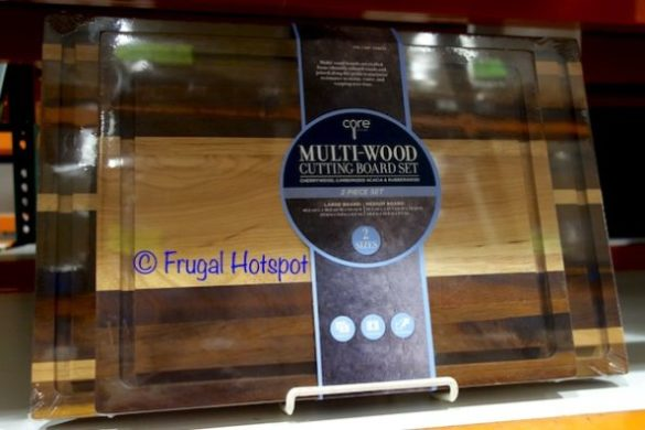 Core Kitchen Multi-Wood Cutting Board 2-Pack at Costco