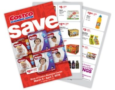 Costco Business Center Coupon Book: March 5, 2018 - April 7, 2018