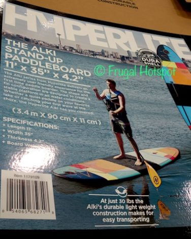 Hyperlite Alki 11' Stand-Up Paddle Board at Costco