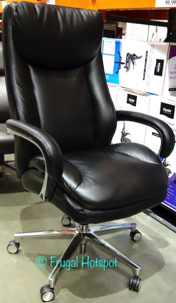 La-Z-Boy Leather Executive Office Chair at Costco