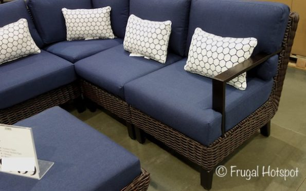 Foremost Melrose 6-Piece Woven Seating Set at Costco