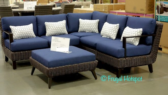 Costco: Foremost Melrose 6-Pc Woven Seating Set $899.99