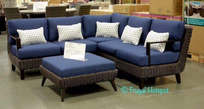 Costco Foremost Melrose 6 Pc Woven Seating Set 899 99
