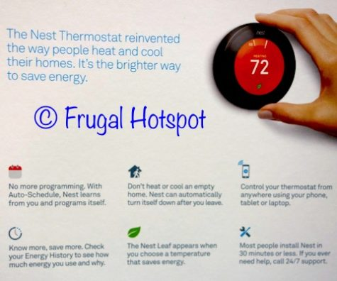Costco Sale: Nest WiFi Smart Thermostat $149 99 | Frugal Hotspot
