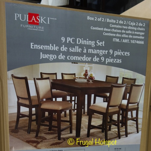 ... Counter Height Dining Set On Sale For $799.99 (after Instant Savings),  Now Through February 9, 2018. That Is $200 Off Costcou0027s Regular Price Of  $999.99.