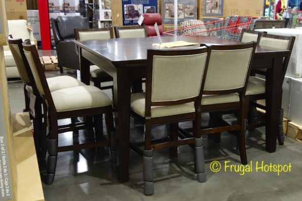 Pulaski Furniture 9-Piece Counter Height Dining Set at Costco