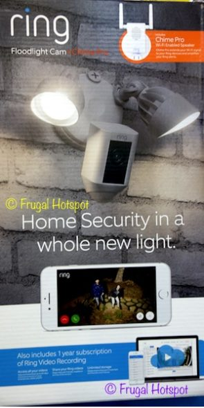 Ring Floodlight Camera + Chime Pro at Costco