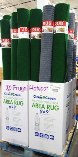 Costco Sale Clean Green Indoor Outdoor 6 X9 Area Rug 14