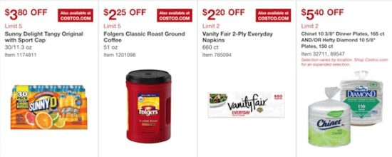 Costco Coupon Book: March 15, 2018 - April 8, 2018