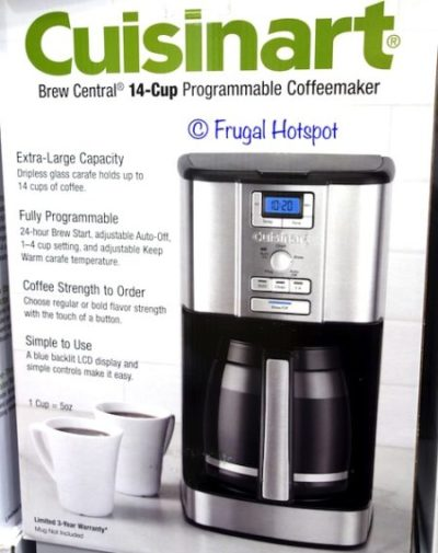 Cuisinart Brew Central 14-Cup Coffee Maker at Costco