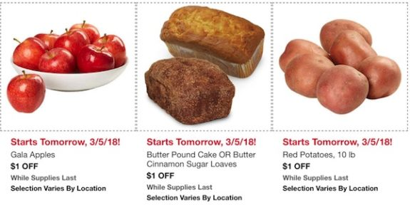 Costco In-Warehouse Hot Buys: Starts March 5, 2018: Gala Apples, Butter Pound Cake, Butter Cinnamon Sugar Loaves, Red Potatoes
