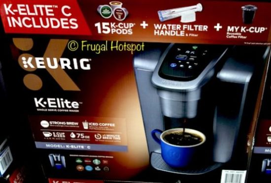 Costco Sale: Keurig K-Elite C Coffee Maker $99 99 | Frugal