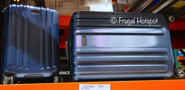 4f974f91a Ricardo Beverly Hills Mulholland Drive 2-Piece Hardside Luggage Set at  Costco