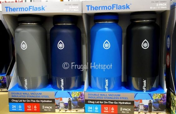 ThermoFlask Insulated Stainless Steel Water Bottles at Costco