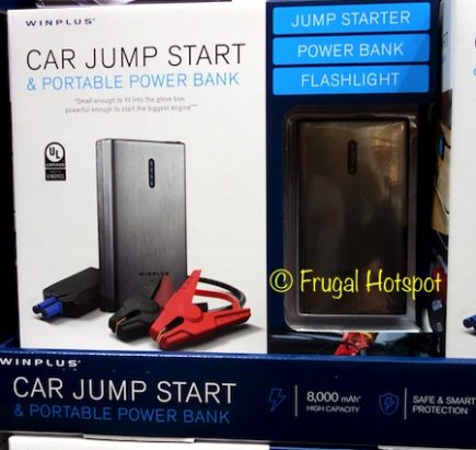 Winplus Car Jump Start and Portable Power Bank at Costco