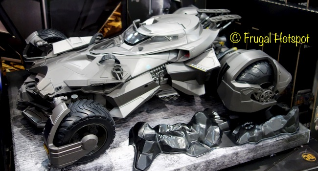 Justice League Ultimate Batmobile Remote Control Vehicle + Batman Action Figure at Costco