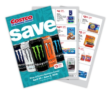Costco Business Center MAY 2018 Coupon Book: 4/30/18 – 6/2/18. Prices Listed.