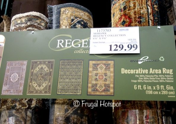 """Mohawk Regency Collection Everstrand Decorative Area Rug 6'6"""" x 9'6"""" at Costco with sale price"""