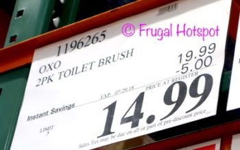 Costco Price: Oxo SoftWorks Hideaway 2-Pack Toilet Brush Set