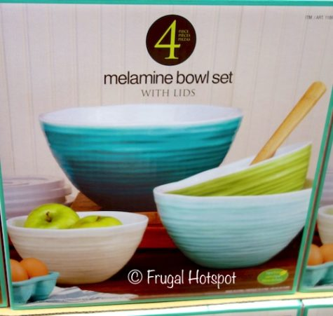 Pandex Ombre Melamine Mixing Bowls 4-Piece at Costco