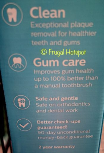Description of Sonicare 5000 ProtectiveClean Gum Care Edition 2-Pack Rechargeable Toothbrushes at Costco