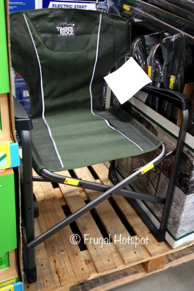 Westfield Timber Ridge Director's Chair with Side Table at Costco
