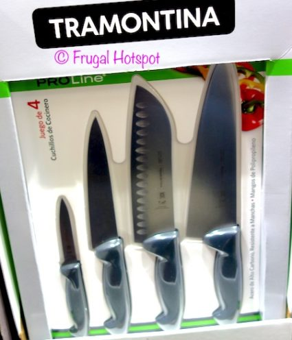 Tramontina ProLine 4-Pack Cook's Knives at Costco