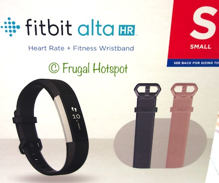 Fitbit Alta HR Fitness Wristband Tracker at Costco