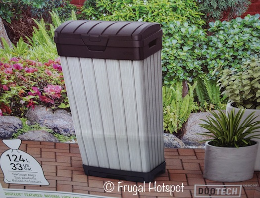 Keter 33-Gallon Outdoor Waste Bin at Costco