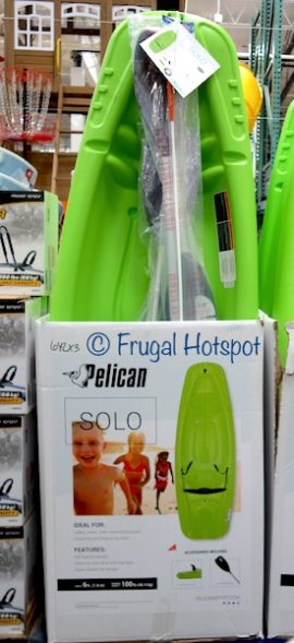 Pelican 6' Solo Youth Kayak at Costco