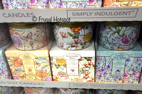 Simply Indulgent Luxury Fragranced 3-Wick Soy Candle at Costco