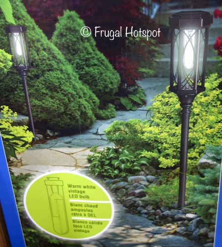 Costco Sale: Naturally Solar Torch Pathway Lights 2-Pk $14.99