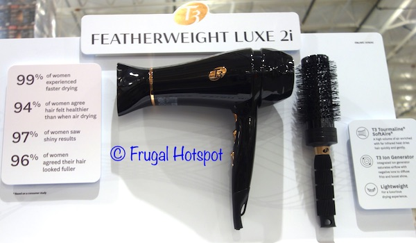 T3 Featherweight Luxe 2i Professional Hair Dryer Black at Costco