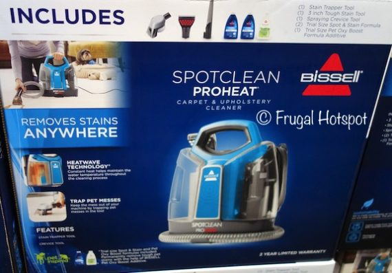 Bissell SpotClean ProHeat Portable Spot Cleaner at Costco