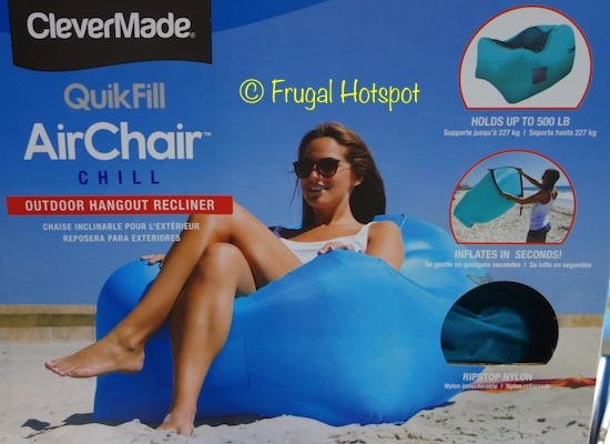 CleverMade QuikFill AirChair at Costco