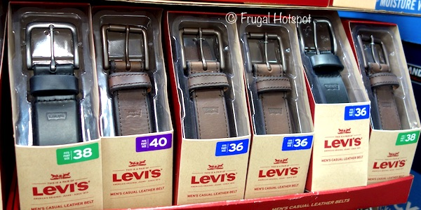 Levis Men's Casual Leather Belt at Costco