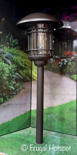 Naturally Solar LED Vintage Style Pathway Lights 8-Pack at Costco