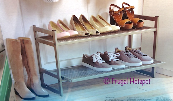 Organize It All Stackable Pull-Out Shoe Rack at Costco