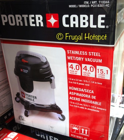 Porter Cable Wet/Dry Vacuum at Costco