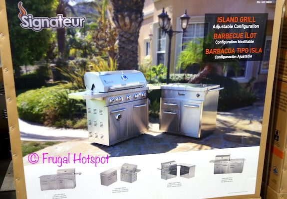 Signateur Island Grill with Smoker at Costco