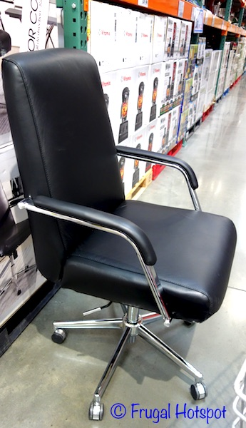True Innovations Leather Chair at Costco