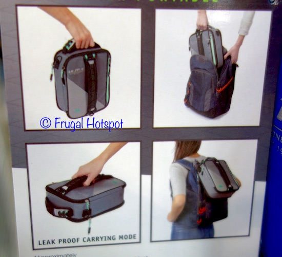 4 different ways to carry Artic Zone Ultra Expandable Lunch Box at Costco