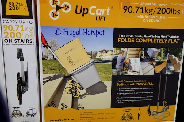 UpCart Stair Climbing Hand Truck at Costco