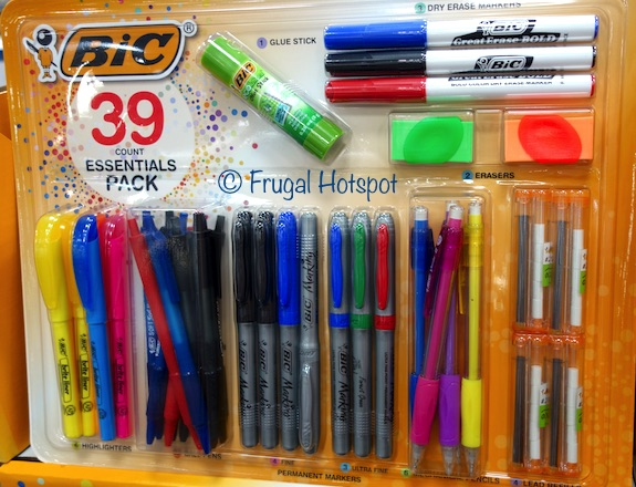 Bic Essentials Pack Writing Set 39-piece at Costco
