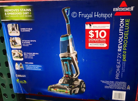 Bissell ProHeat 2X Revolution Pet Pro Deluxe Carpet Cleaner at Costco