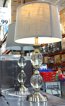 Costco Sale Bridgeport Designs Crystal Floor Lamp 59 99
