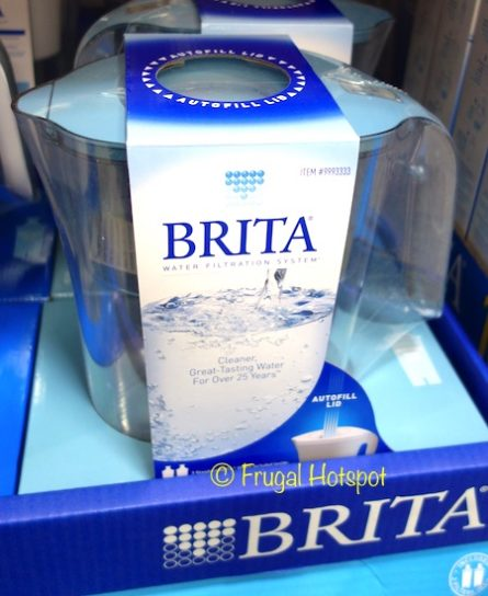 Brita Lake Pitcher with 2 Advanced Filters at Costco