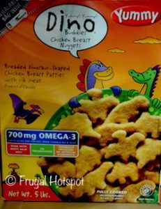 Dino Buddies Chicken Nuggets 5 lbs at Costco