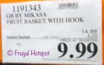Gourmet Basics by Mikasa Convertible Fruit Basket. Costco Sale Price