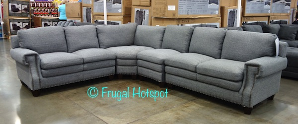 Costco: Gray Fabric Sectional $899.99